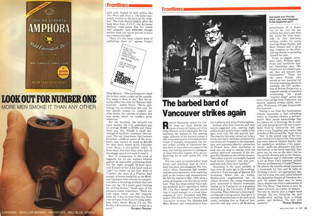 Article Preview: The barbed bard of Vancouver strikes again, May 1979 | Maclean's