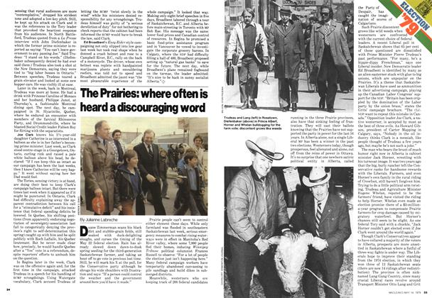 Article Preview: The Prairies: where often is heard a discouraging word, May 1979 | Maclean's