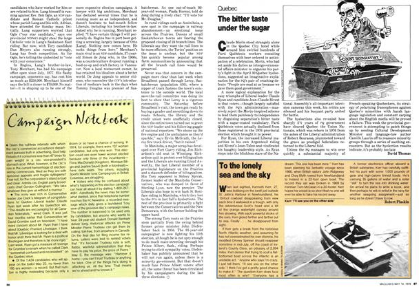 Article Preview: To the lonely sea and the sky, May 1979 | Maclean's