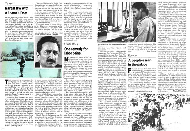 Article Preview: A people's man in the palace, May 1979 | Maclean's