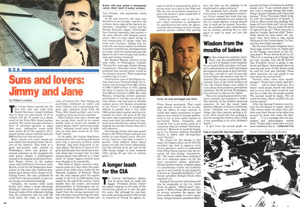 Article Preview: Suns and lovers: Jimmy and Jane, May 1979 | Maclean's