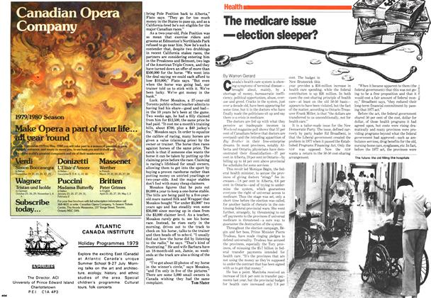 Article Preview: The medicare issue —election sleeper?, May 1979 | Maclean's