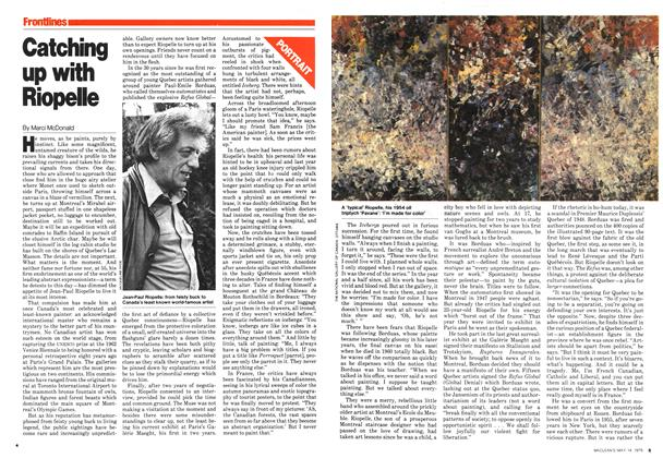 Article Preview: Catching up with Riopelle, May 1979 | Maclean's