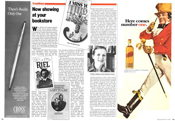 Article Preview: Now showing at your bookstore, May 1979 | Maclean's