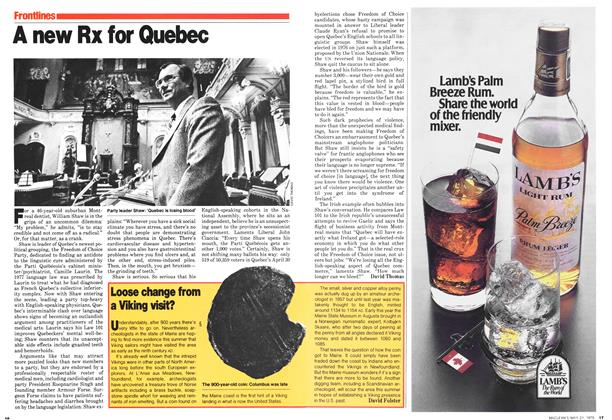 Article Preview: A new Rx for Quebec, May 1979 | Maclean's