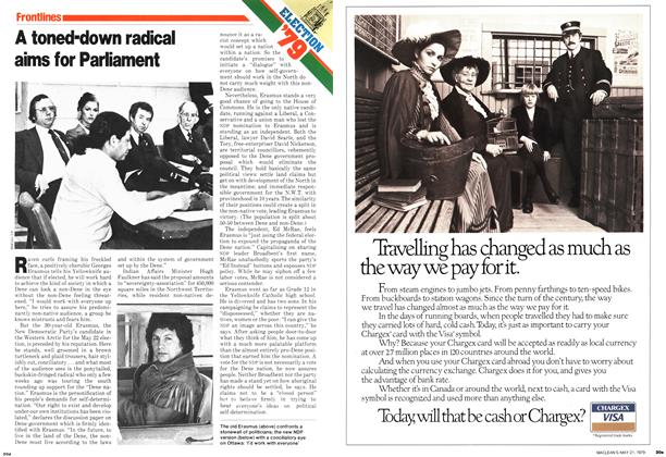 Article Preview: A toned-down radical aims for Parliament, May 1979 | Maclean's