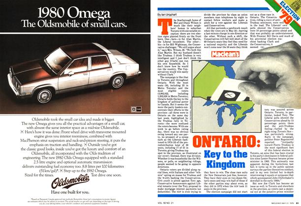 Article Preview: ONTARIO: Key to the Kingdom, May 1979 | Maclean's