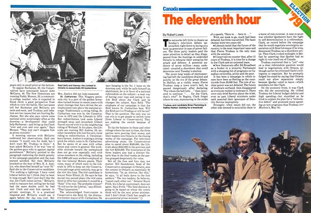 Article Preview: The eleventh hour, May 1979 | Maclean's