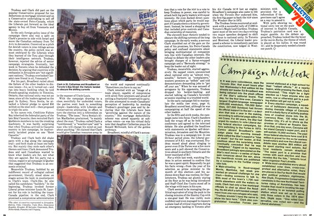 Article Preview: Campaign Notebook, May 1979 | Maclean's