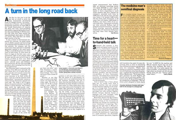 Article Preview: A turn in the long road back, May 1979 | Maclean's
