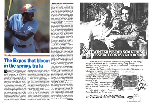 Article Preview: The Expos that bloom in the spring, tra la, May 1979 | Maclean's