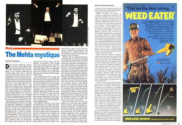 Article Preview: The Mehta mystique, May 1979 | Maclean's