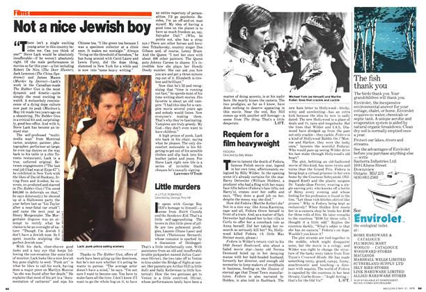 Article Preview: Not a nice Jewish boy, May 1979 | Maclean's