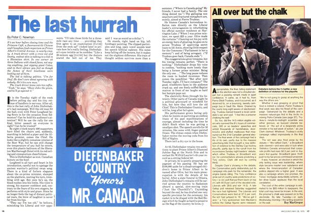 Article Preview: All over but the chalk, May 1979 | Maclean's