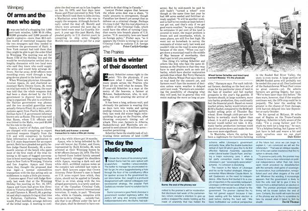Article Preview: The day the elastic snapped, May 1979 | Maclean's