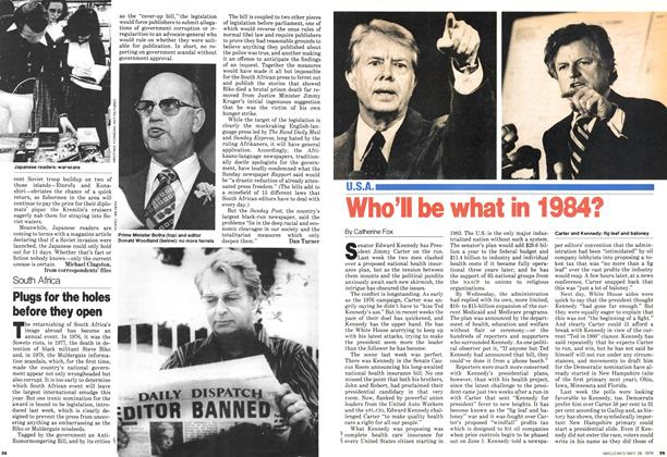 Article Preview: Who'll be what in 1984?, May 1979 | Maclean's