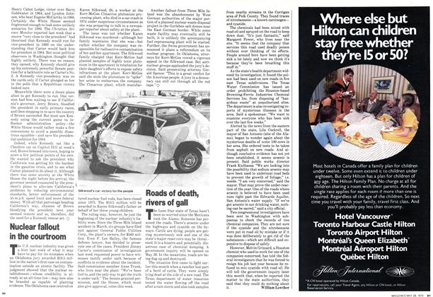 Article Preview: Roads of death, rivers of gall, May 1979 | Maclean's