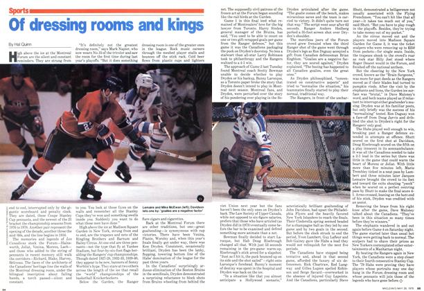 Article Preview: Of dressing rooms and kings, May 1979 | Maclean's