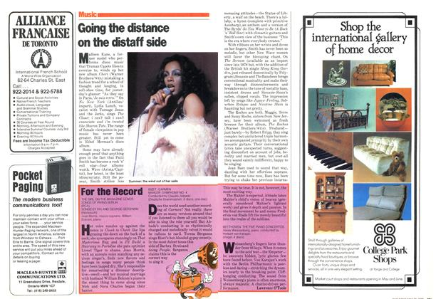 Article Preview: Going the distance on the distaff side, May 1979 | Maclean's