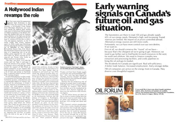 Article Preview: A Hollywood Indian revamps the role, June 1979 | Maclean's