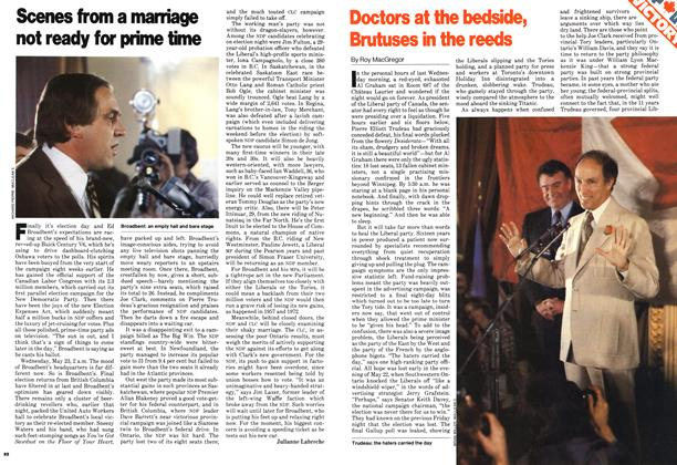 Article Preview: Doctors at the bedside, Bratuses in the reeds, June 1979 | Maclean's