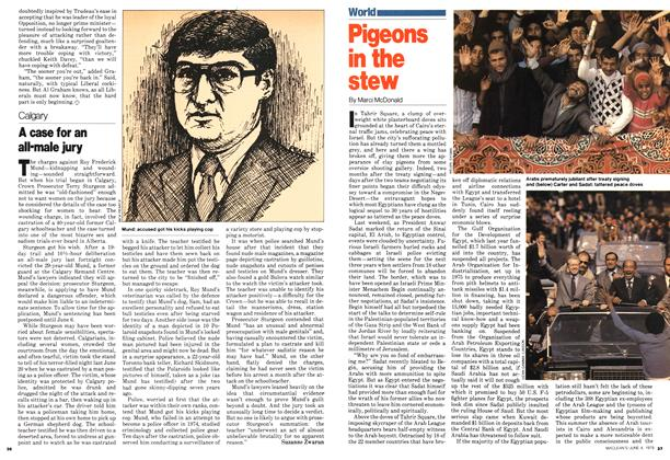 Article Preview: Pigeons in the stew, June 1979 | Maclean's