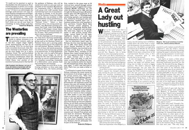 Article Preview: The Westerlies are prevailing, June 1979 | Maclean's
