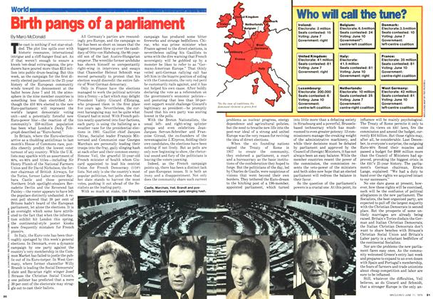 Article Preview: Birth pangs of a parliament, June 1979 | Maclean's