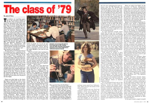Article Preview: The class of '79, June 1979 | Maclean's