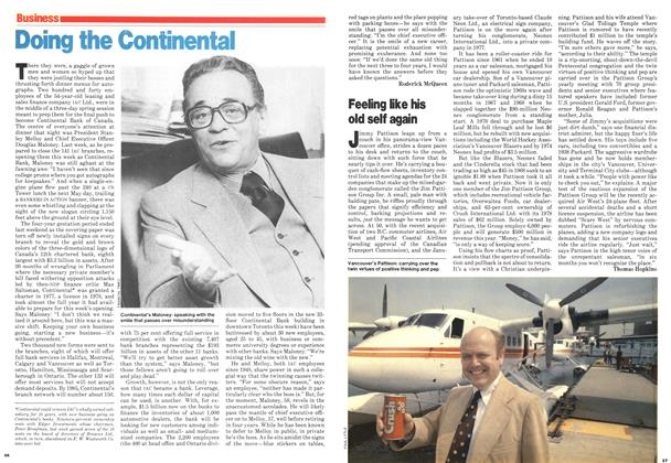 Article Preview: Doing the Continental, June 1979 | Maclean's
