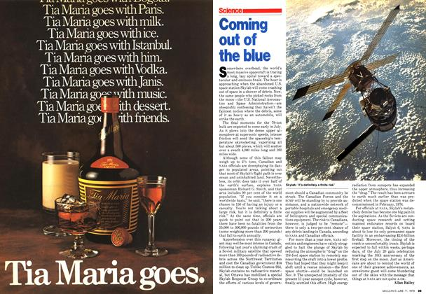 Article Preview: Coming out of the blue, June 1979 | Maclean's