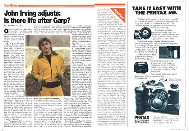Article Preview: John Irving adjusts: is there life after Garp?, June 1979 | Maclean's