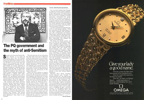 Article Preview: The PQ government and the myth of anti-Semitism, June 1979 | Maclean's