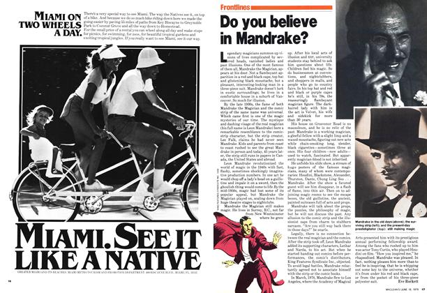 Article Preview: Do you believe in Mandrake?, June 1979 | Maclean's