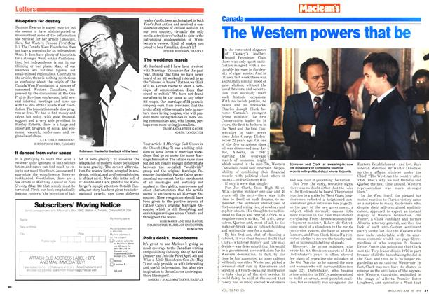 Article Preview: The Western powers that be, June 1979 | Maclean's