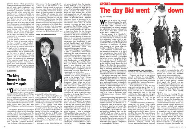 Article Preview: The day Bid went down, June 1979 | Maclean's