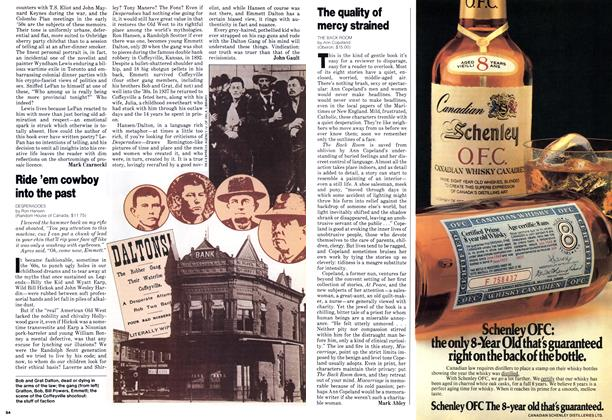 Article Preview: The quality of mercy strained, June 1979 | Maclean's