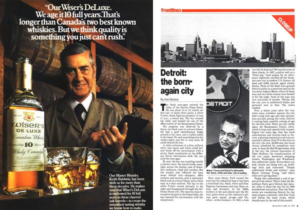 Article Preview: Detroit: the born-again city, June 1979 | Maclean's
