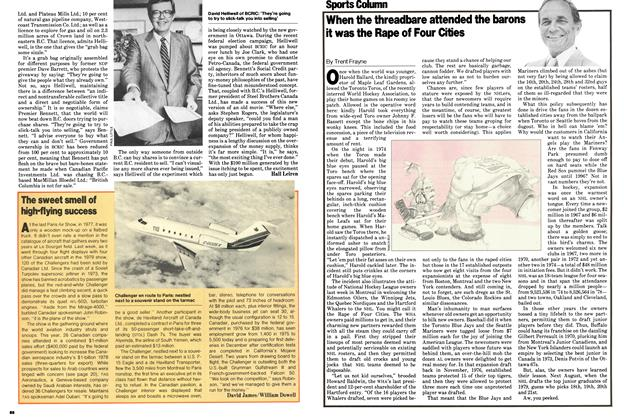 Article Preview: When the threadbare attended the barons it was the Rape of Four Cities, June 1979   Maclean's