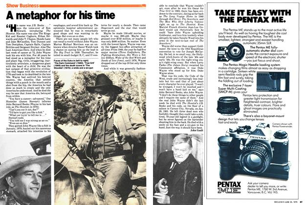 Article Preview: A metaphor for his time, June 1979 | Maclean's
