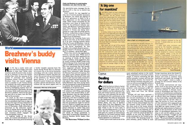 Article Preview: Brezhnev's buddy visits Vienna, June 1979 | Maclean's