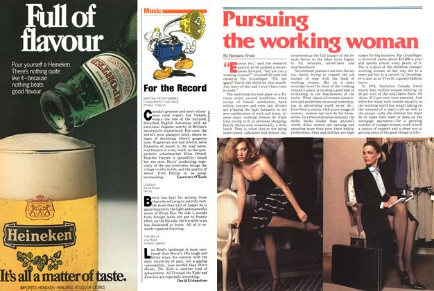 Article Preview: Pursuing the working woman, June 1979 | Maclean's