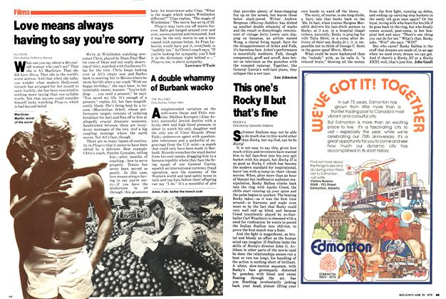 Article Preview: This one's Rocky II but that's fine, June 1979 | Maclean's