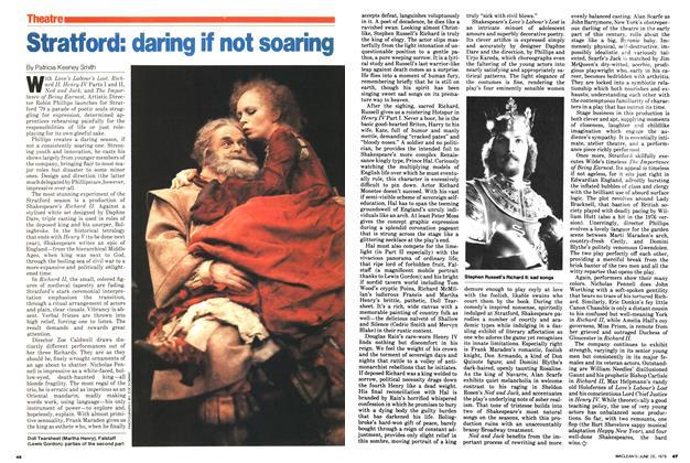 Article Preview: Stratford: daring if not soaring, June 1979 | Maclean's