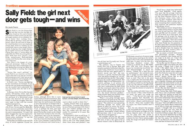 Article Preview: Sally Field: the girl next door gets tough—and wins, June 1979 | Maclean's