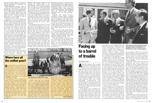 Article Preview: Facing up to a barrel of trouble, July 1979 | Maclean's
