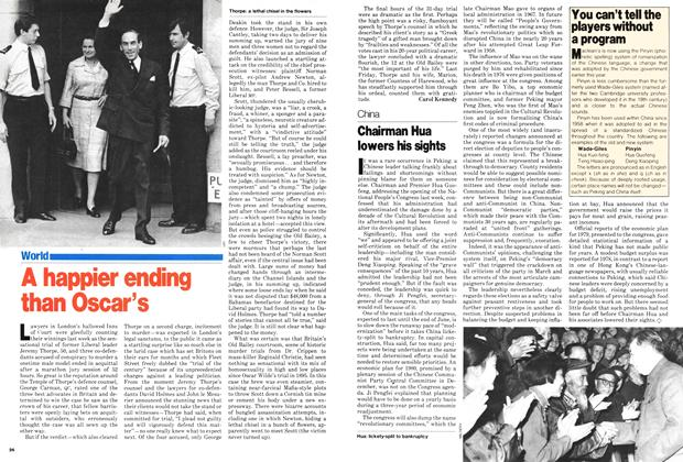 Article Preview: A happier ending than Oscar's, July 1979 | Maclean's