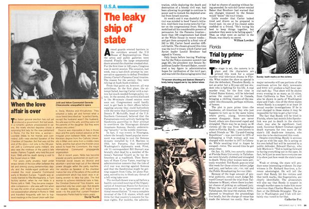 Article Preview: When the love affair is over, July 1979 | Maclean's