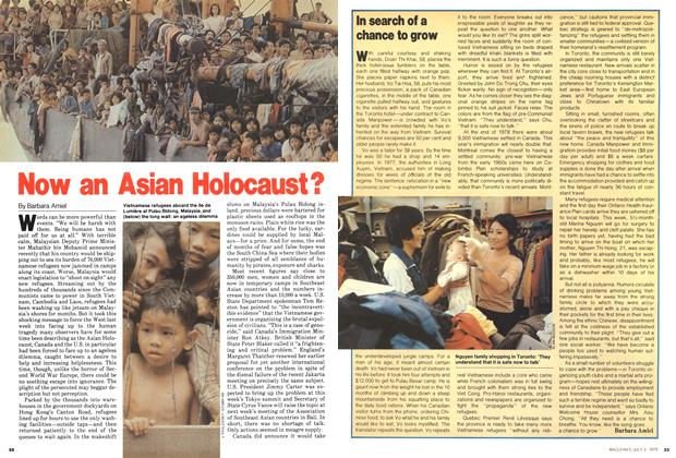 Article Preview: Now an Asian Holocaust?, July 1979 | Maclean's