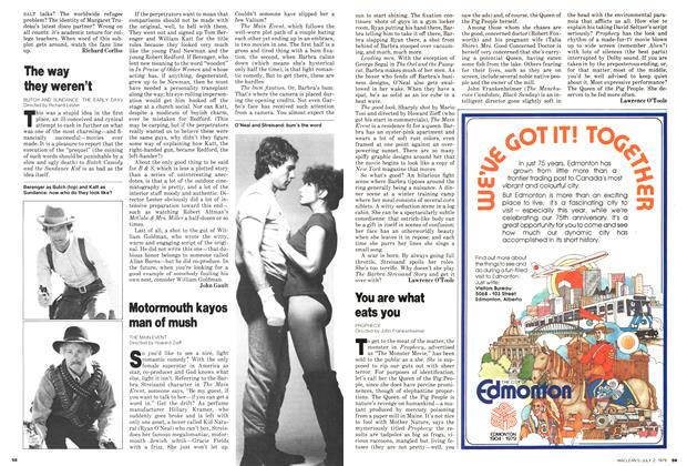 Article Preview: You are what eats you, July 1979 | Maclean's